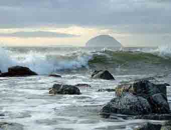 Ailsa Craig from Lendalfoot