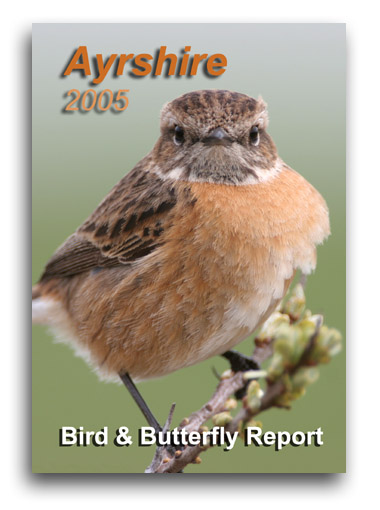 Ayrshire Bird Report 2005 (Stonechat, Ayrshire's county bird, on the front cover)