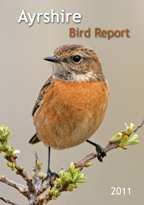 Ayrshire Bird Report 2011 - front cover
