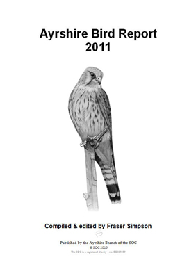 Ayrshire Bird Report 2011 - frontispiece � Fraser Simpson