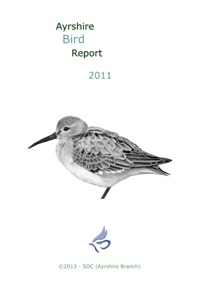 Ayrshire Bird Report 2011 - rear cover � Fraser Simpson