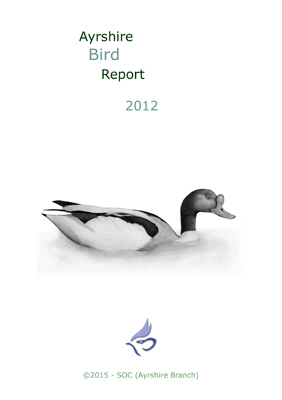 Ayrshire Bird Report 2012 - rear cover � Fraser Simpson