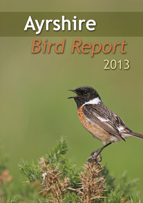 Ayrshire Bird Report 2013 - front cover