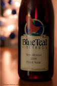 Blue Teal Wine
