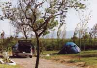 Camping in the Emporda marshes, Camping Nautic Almata