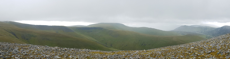 View from Carn an Tuirc © Fraser Simpson