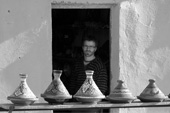 Tajine pottery shop